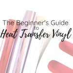 heat transfer vinyl with cricut easy press