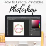 create printables with photoshop