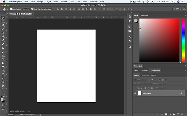 how to create printables with photoshop