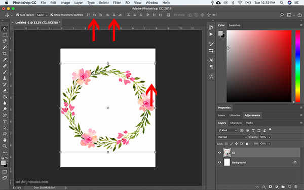 make printables with photoshop