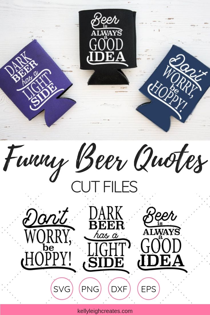 beer quotes cut files