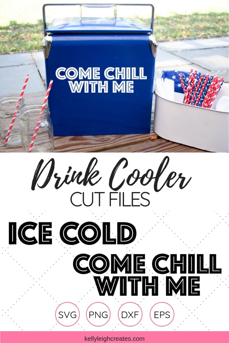 drink cooler cut files display