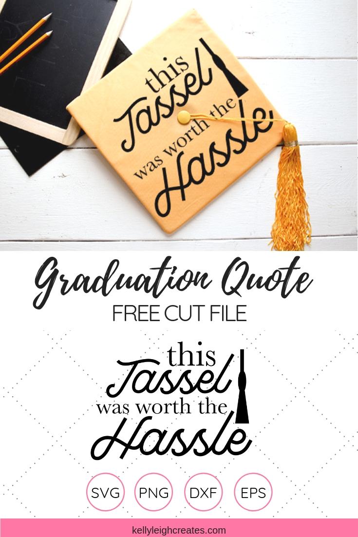 funny graduation quote cut file