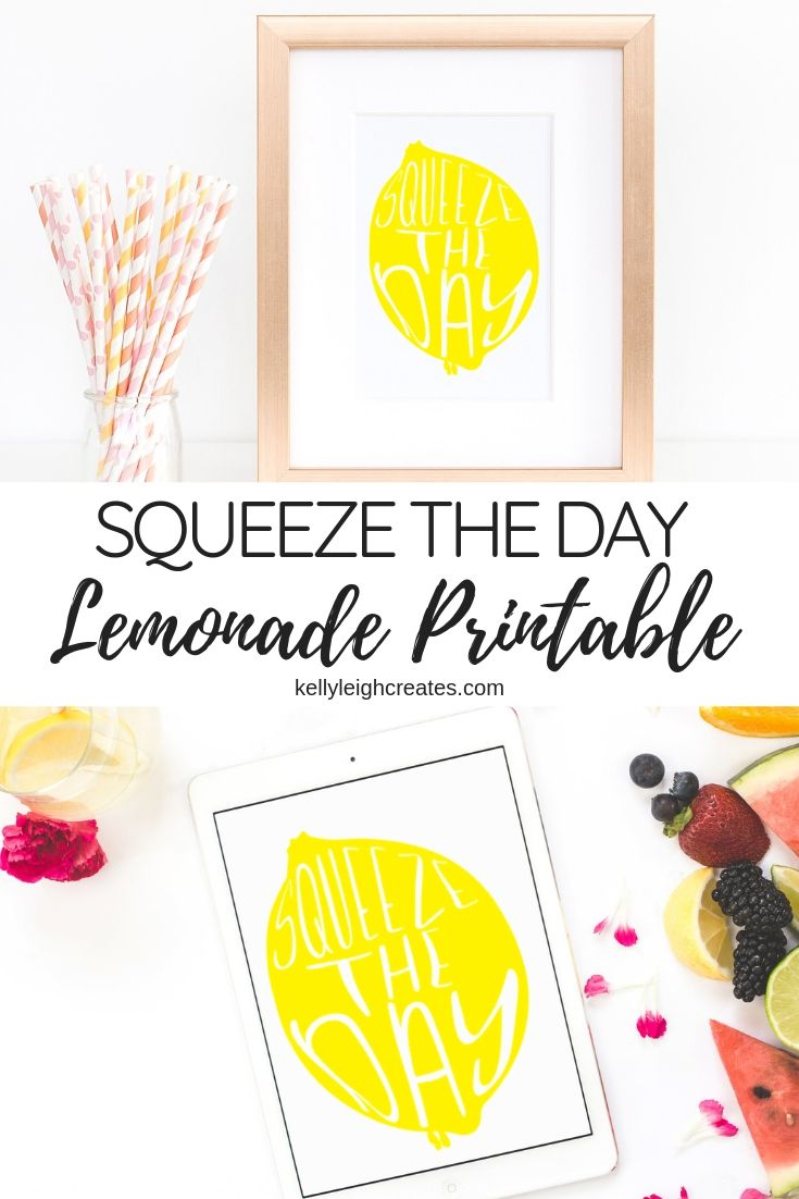 lemonade printable