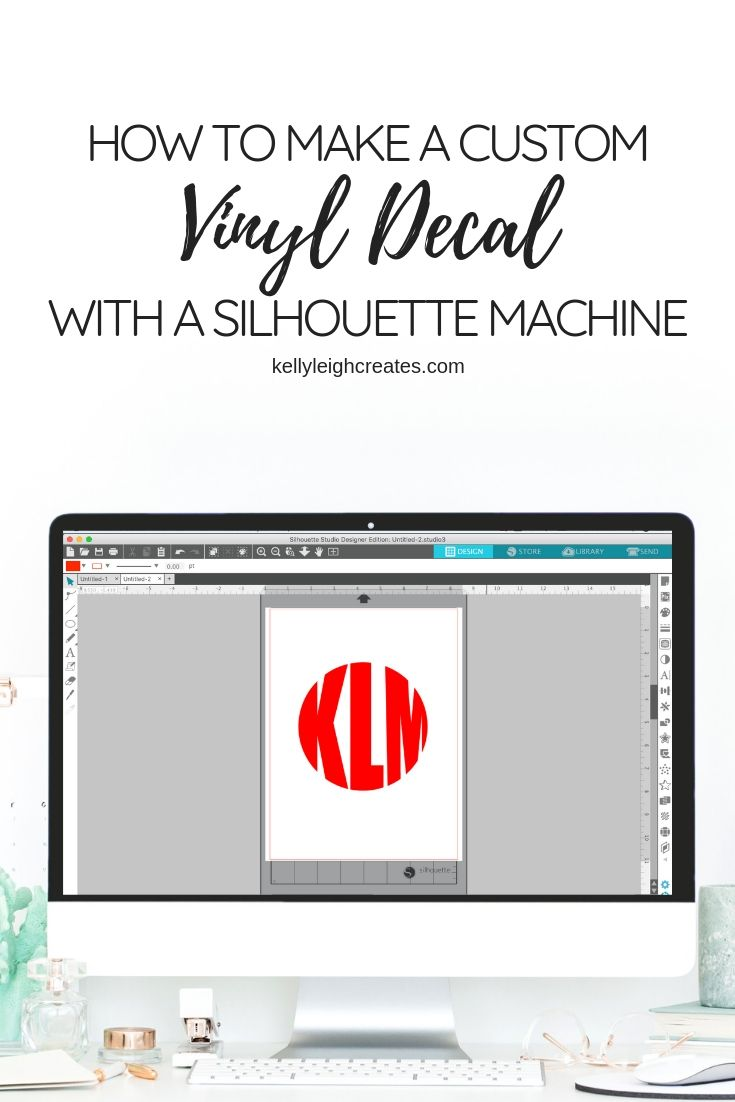make a vinyl decal