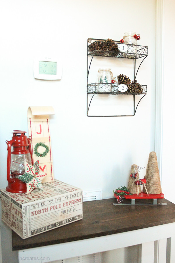 rustic Christmas home