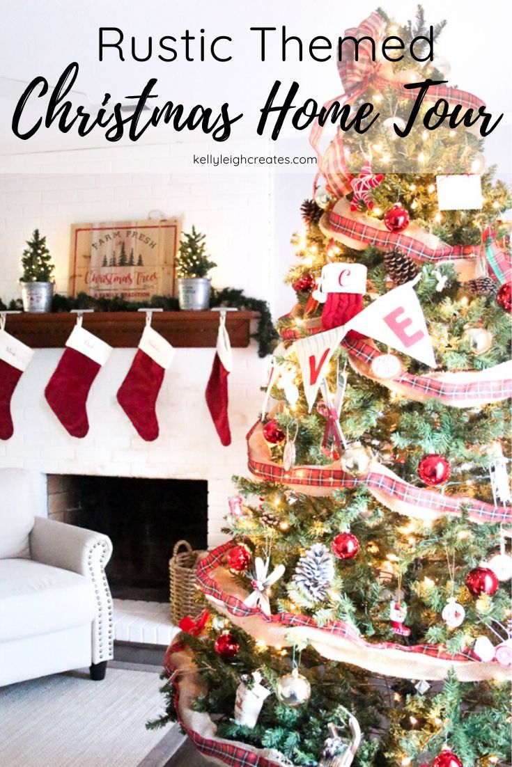 rustic Christmas home DECOR