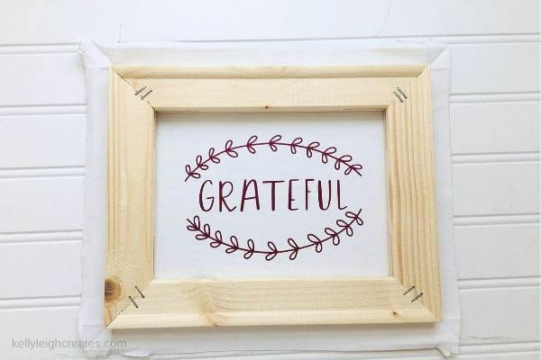 thanksgiving reverse canvas sign
