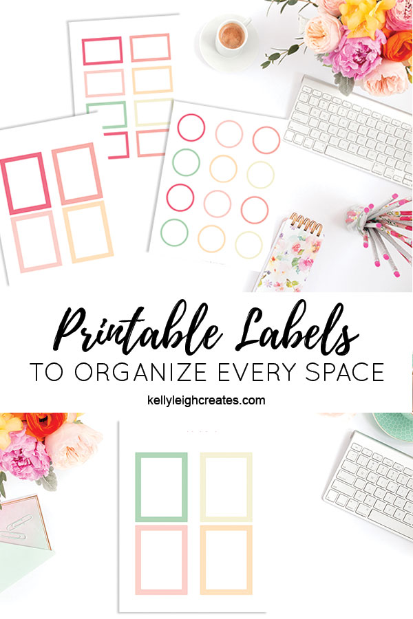 printable labels for organization