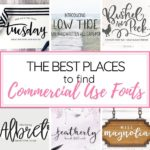 commercial use fonts