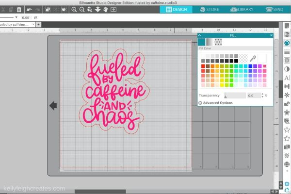 make stickers with SVG files