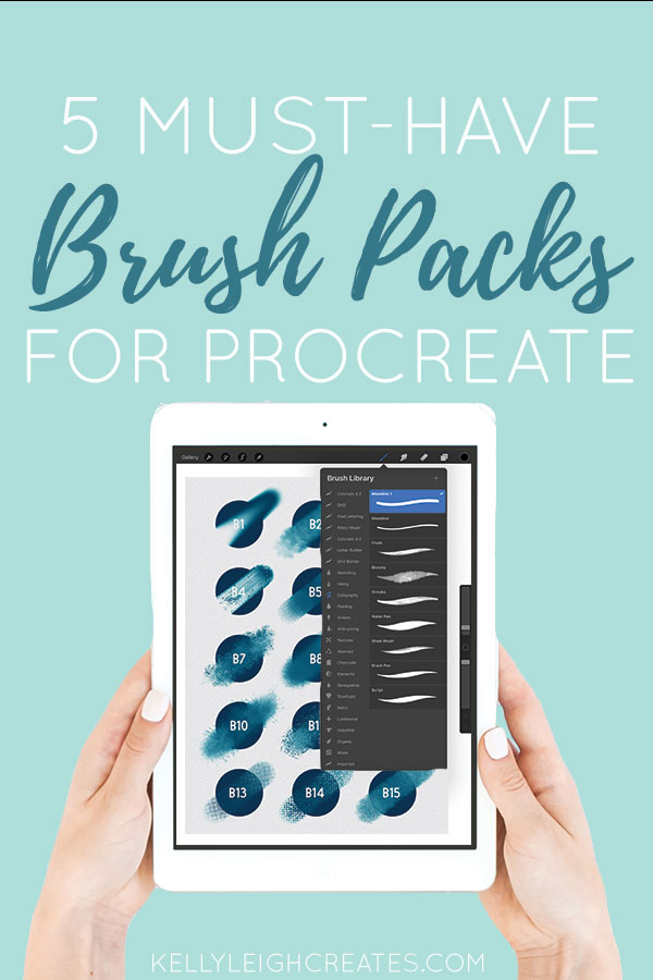 procreate brush packs