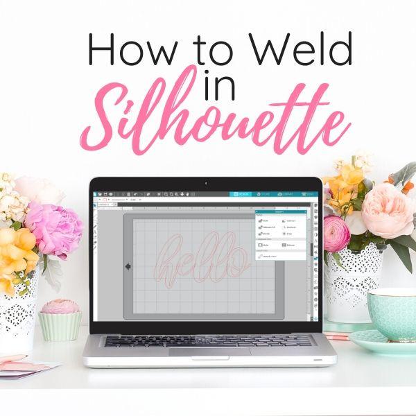 use Silhouette weld tool