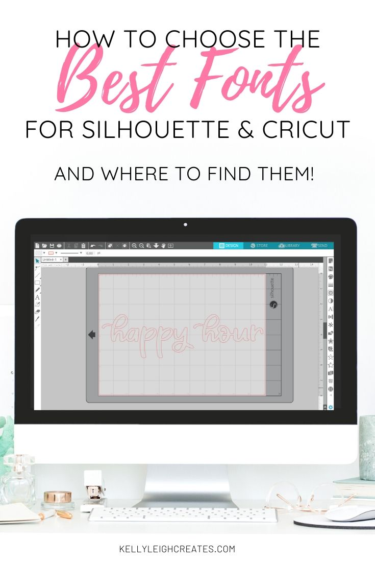 fonts for silhouette and cricut