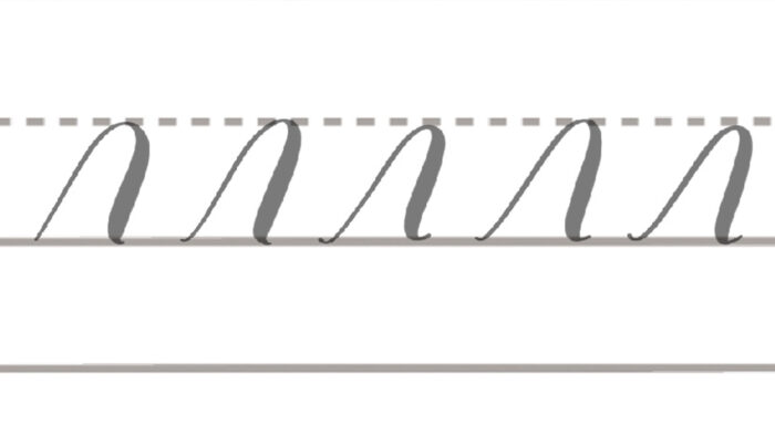 basic brush lettering strokes overturn