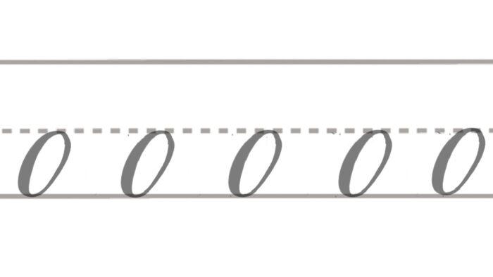 basic brush lettering strokes oval