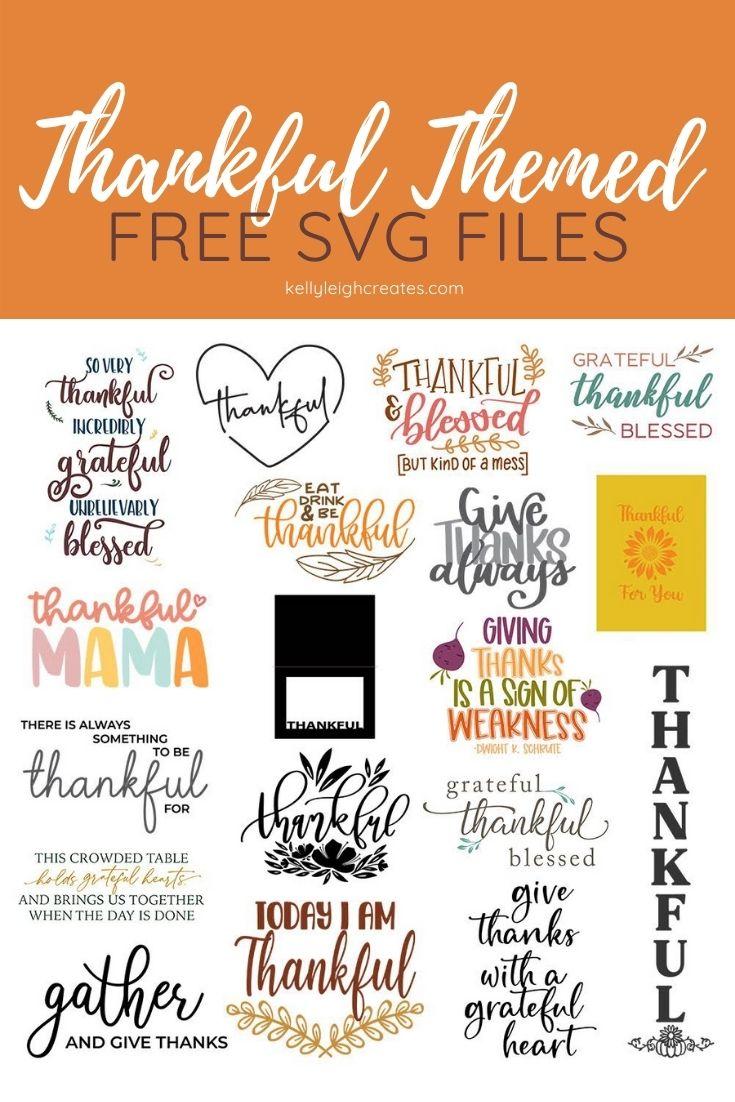 thanksgiving svg files