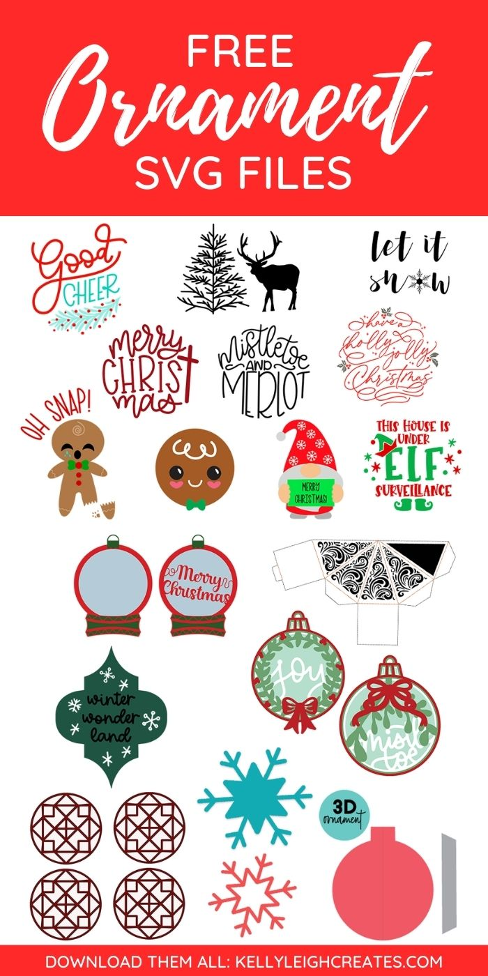 christmas svg files for ornaments