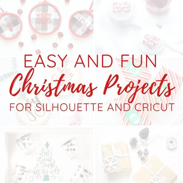 silhouette and cricut christmas projects