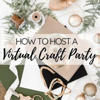 virtual craft party