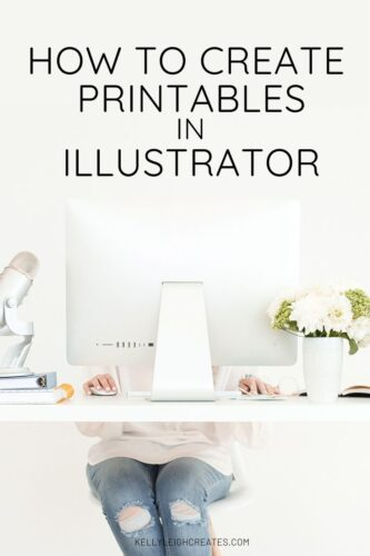 create printables in illustrator