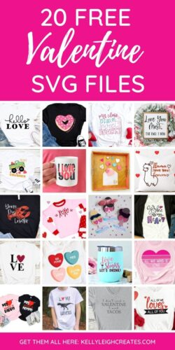 projects using valentine svg files