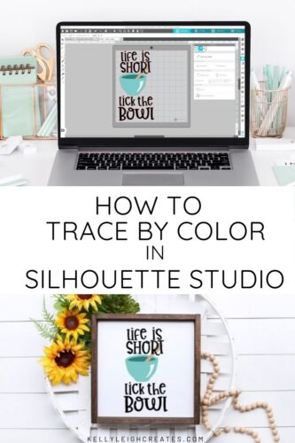trace by color in Silhouette