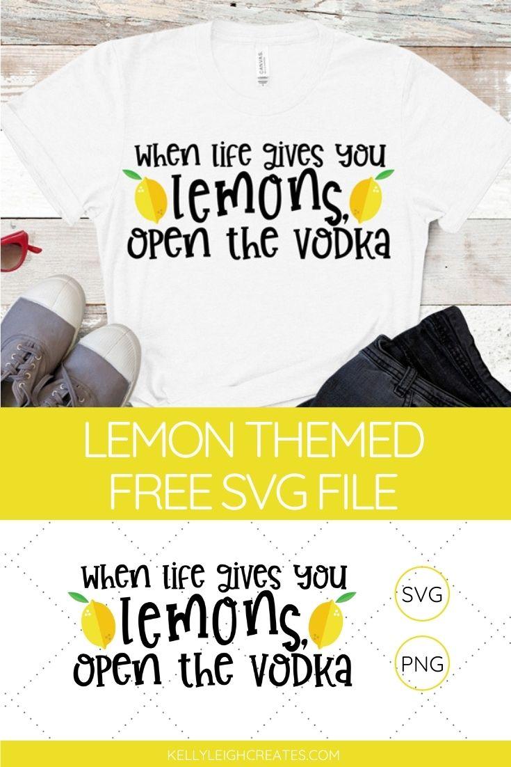 free lemon svg file