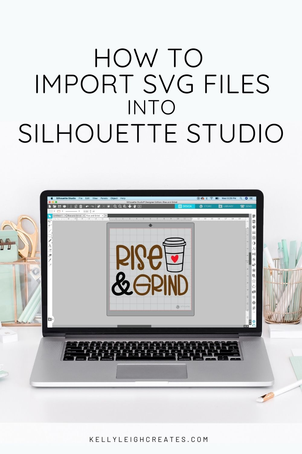 import SVG files into Silhouette